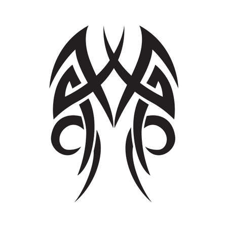 tatuaggio tribale Vettoriali
