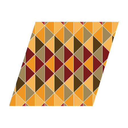 parallelogram: parallelogram with geometrical pattern