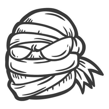 mummy: mummy Illustration