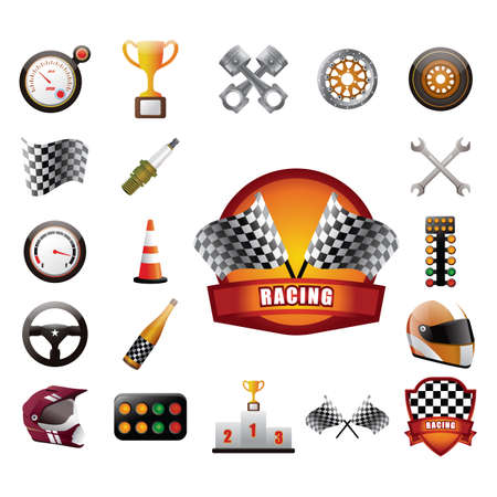 alloy: set of race icon