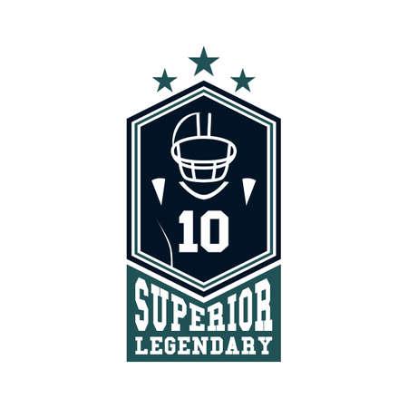 superior: superior legendary label design