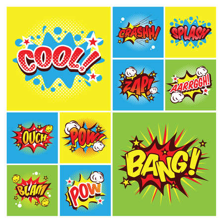 ouch: comic word collection