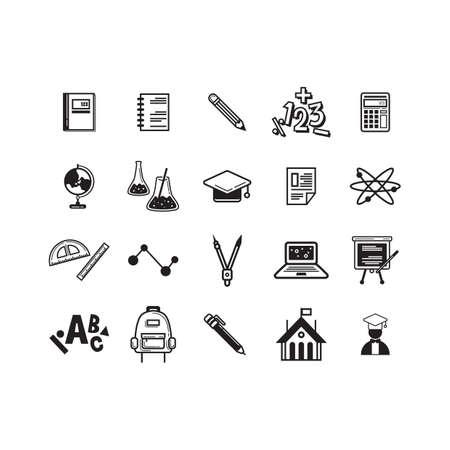 educational: educational icons