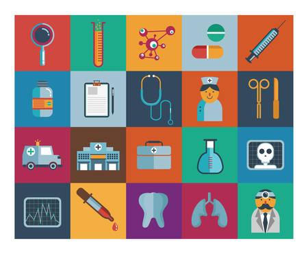 Medical Icons Sammlung
