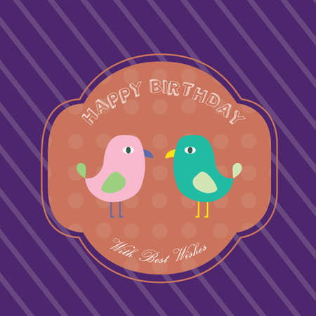 birthday invitation: happy birthday invitation card