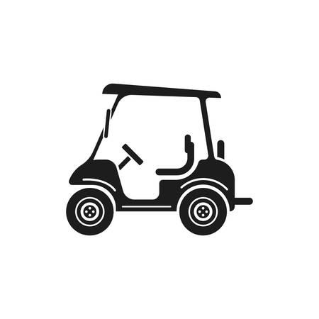 four wheeler: golf cart