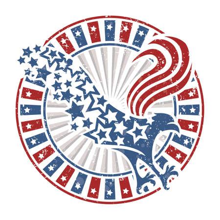 usa eagle design royalty free cliparts vectors and stock rh 123rf com flag usa eagle vector American Eagle Vector