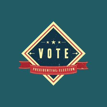 election vote: election vote badge