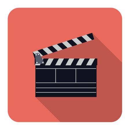 movie production: movie production clapper
