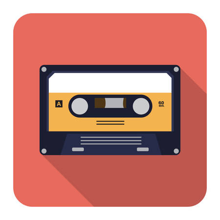 cassette tape: vintage cassette tape