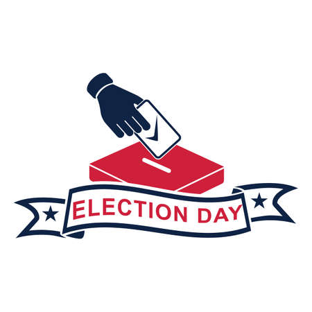 election day Иллюстрация