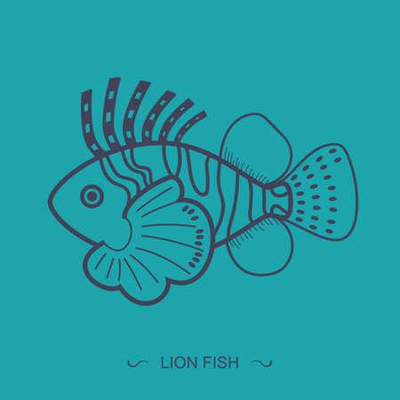 lionfish: lionfish Illustration