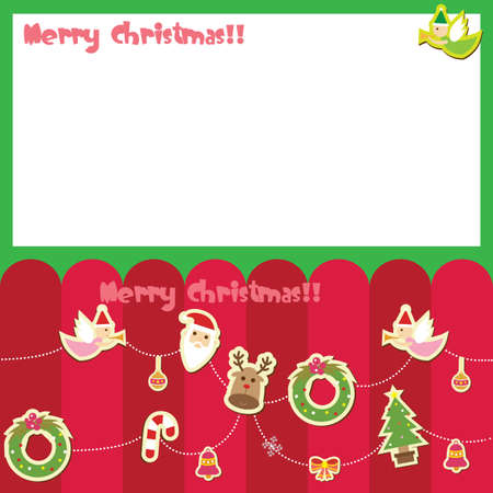 x mas card: merry christmas card