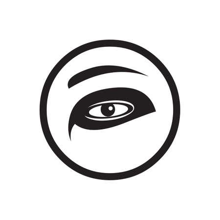 brow: human eye