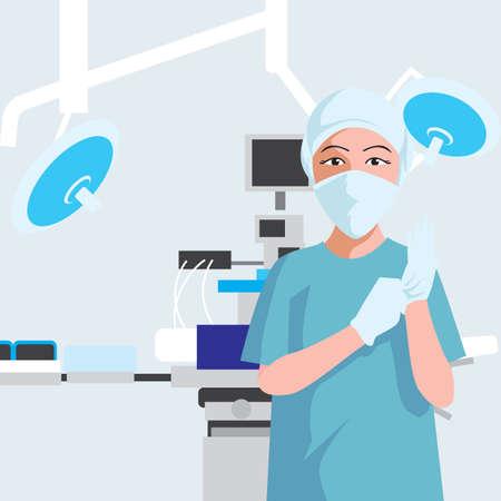 Chirurg Ilustracje wektorowe