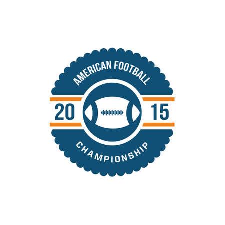 championship: american football championship label