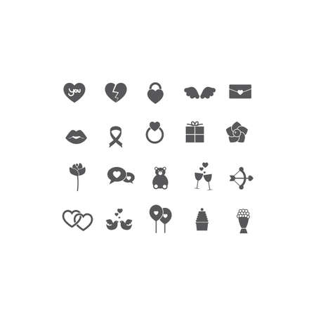 occassion: collection love icons
