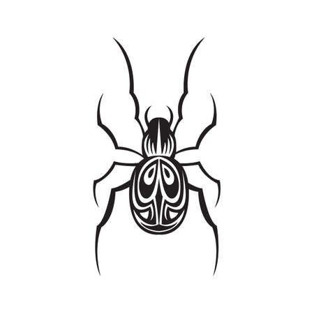 cerambycidae: beetle tattoo Illustration