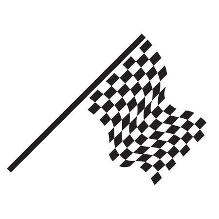 Karierten Flagge  Standard-Bild - 52609712