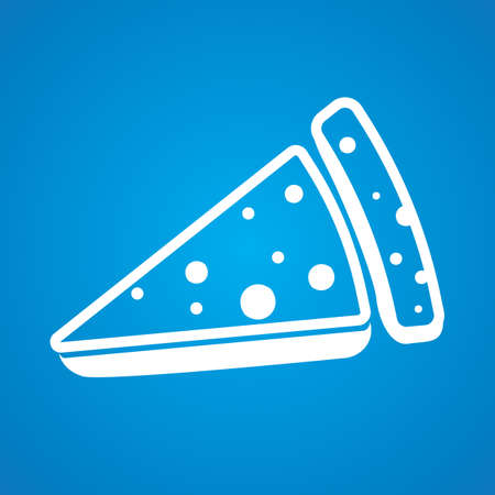 slice: pizza slice Illustration