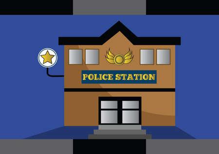 cops: police station