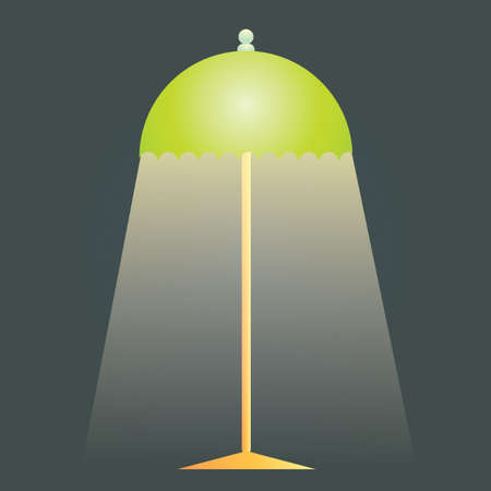 floor lamp: floor lamp Illustration