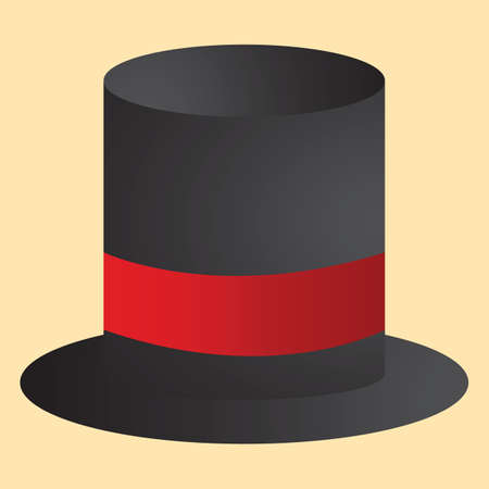 on top: top hat