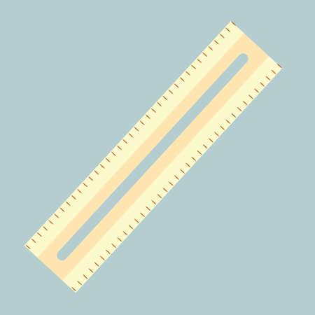 millimeters: ruler Illustration