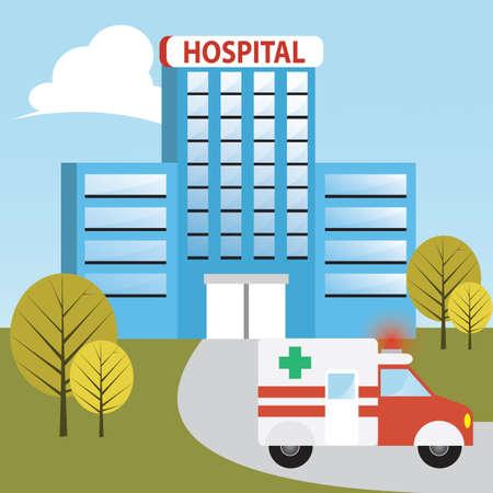 Ambulanz im Krankenhaus