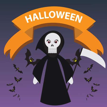 grim reaper Иллюстрация