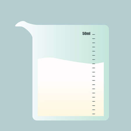 liter: milk in a measuring jar