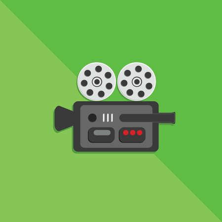 filmstrips: movie camera