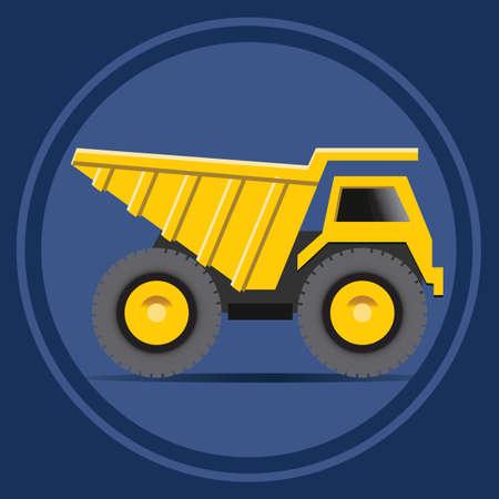 heavy construction: haul truck