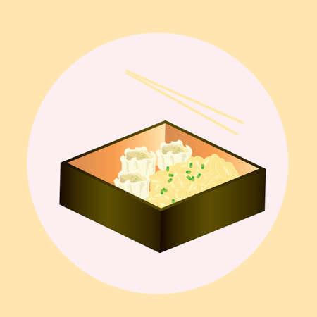 sashimi with rice