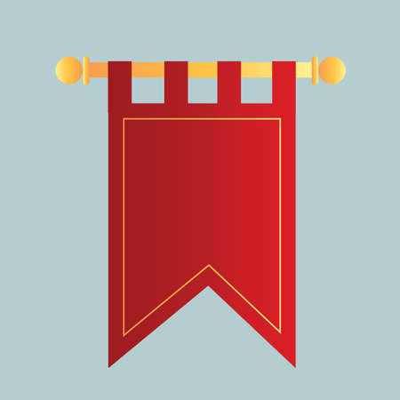 wimpel vlag Vector Illustratie