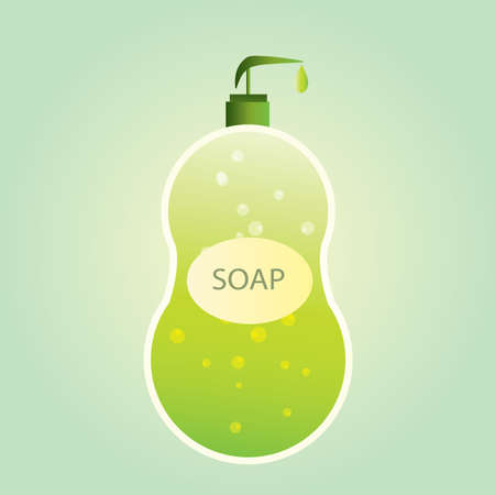 toiletries: hand wash bottle