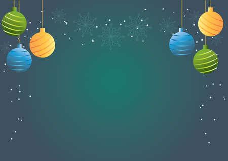x mas background: christmas baubles background
