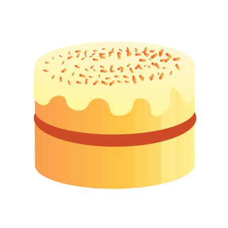 teatime: cake Illustration