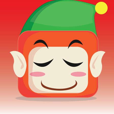 blushing: elf blushing Illustration