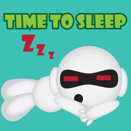 zzz: sleeping robot