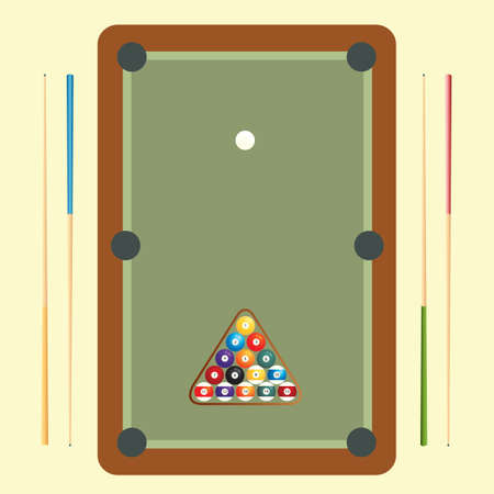 cue sports: pool game