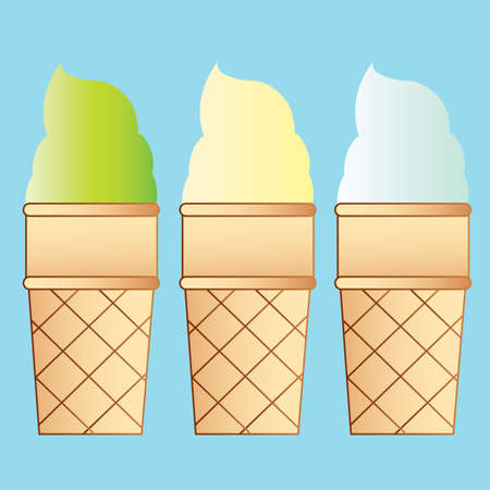 cones: ice-cream cones