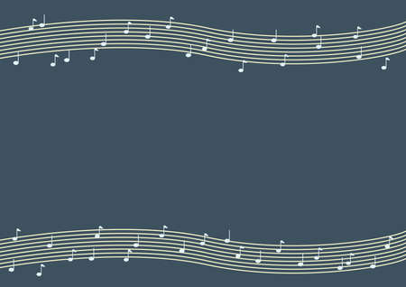 chords: music notes and chords background