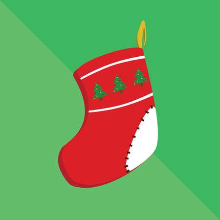 christmas stocking: christmas stocking Illustration
