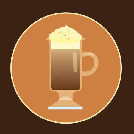 whipped cream: coffee with whipped cream