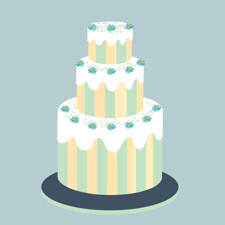 tier: 3-tier cake