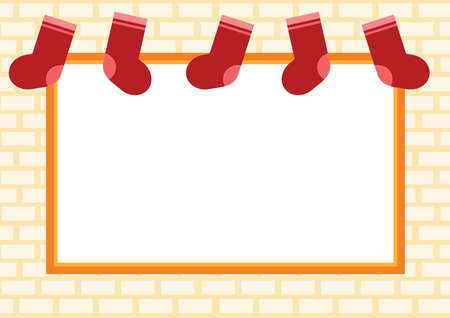 stockings: christmas stockings background