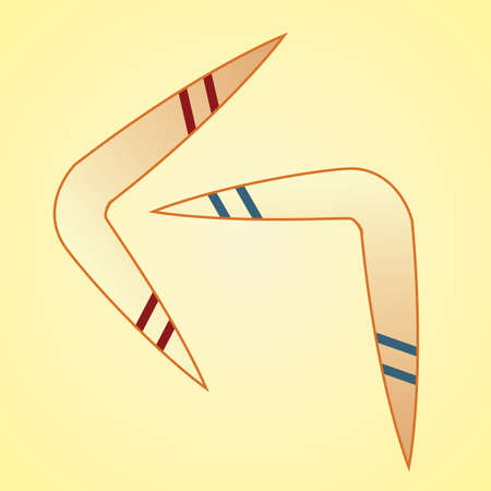boomerangs: boomerangs Illustration
