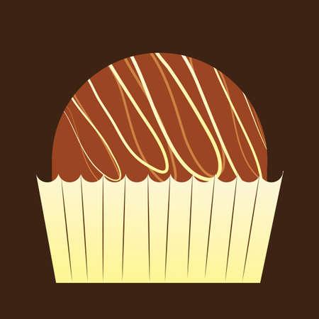 truffle: chocolate truffle