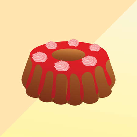 teatime: cake Illustration